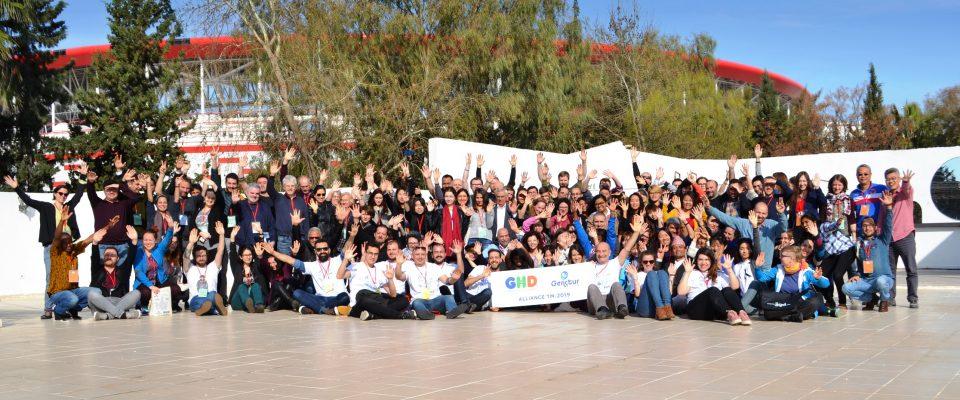 Dünyayı Antalya'da Ağırladık
