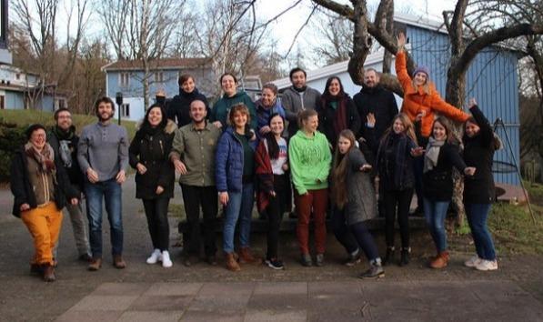 16-20 Ocak tarihleri arasında Let's Team Up semineri kapsamında Almanya'nın Hessen şehrindeydik.
